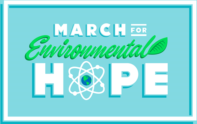 A real thing, Jimmy. - MARCH FOR ENVIRONMENTAL HOPE