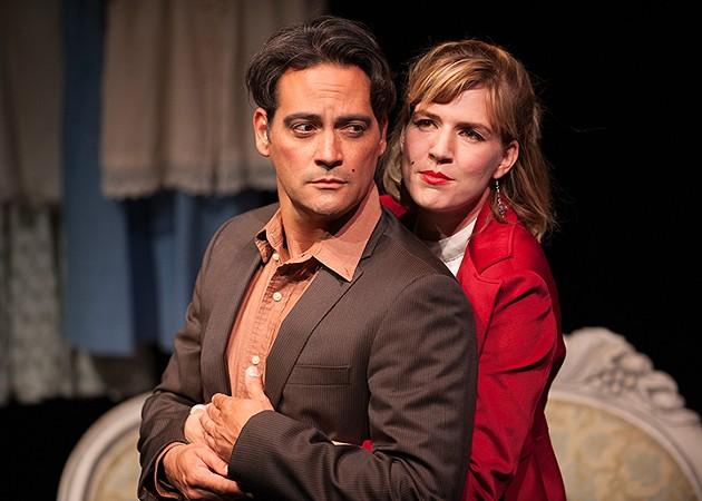 Valmont (Johnny Moreno) and Ana (Sarah Moser) dance. - KEN LEVIN