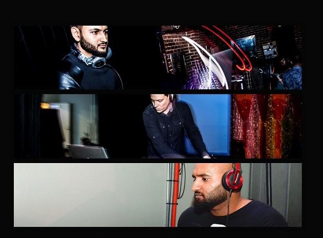 From top to bottom: Rav-E, Jimmy Love, DJ Nix - ODELL HUSSEY
