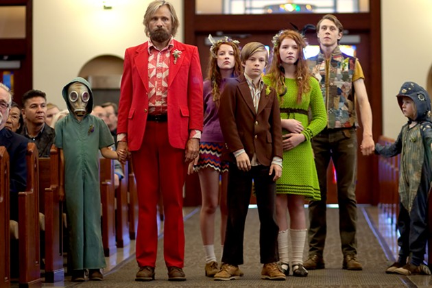 Captain Fantastic, starring Viggo Mortensen, opens in San Francisco on July 15. - CATHY KANAVY