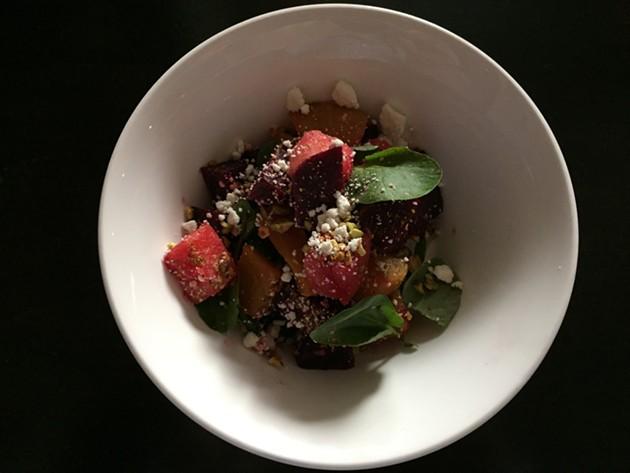 Beet and watermelon salad - NICHOLAS HURLBURT