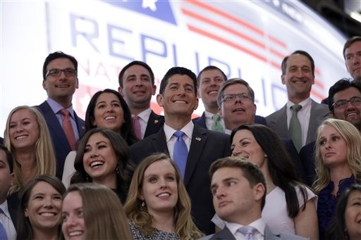 Any one of these youths might be a Trump voter. - JOHN LOCHER/AP