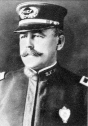 Wiliam J. Biggy, San Francisco Chief of Police from 1907-1908. - WIKIMEDIA