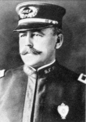 Wiliam J. Biggy, San Francisco Chief of Police from 1907-1908. - WIKIMEDIA