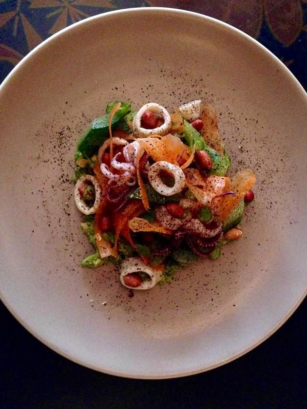 Monterey squid salad - A. K. CARROLL