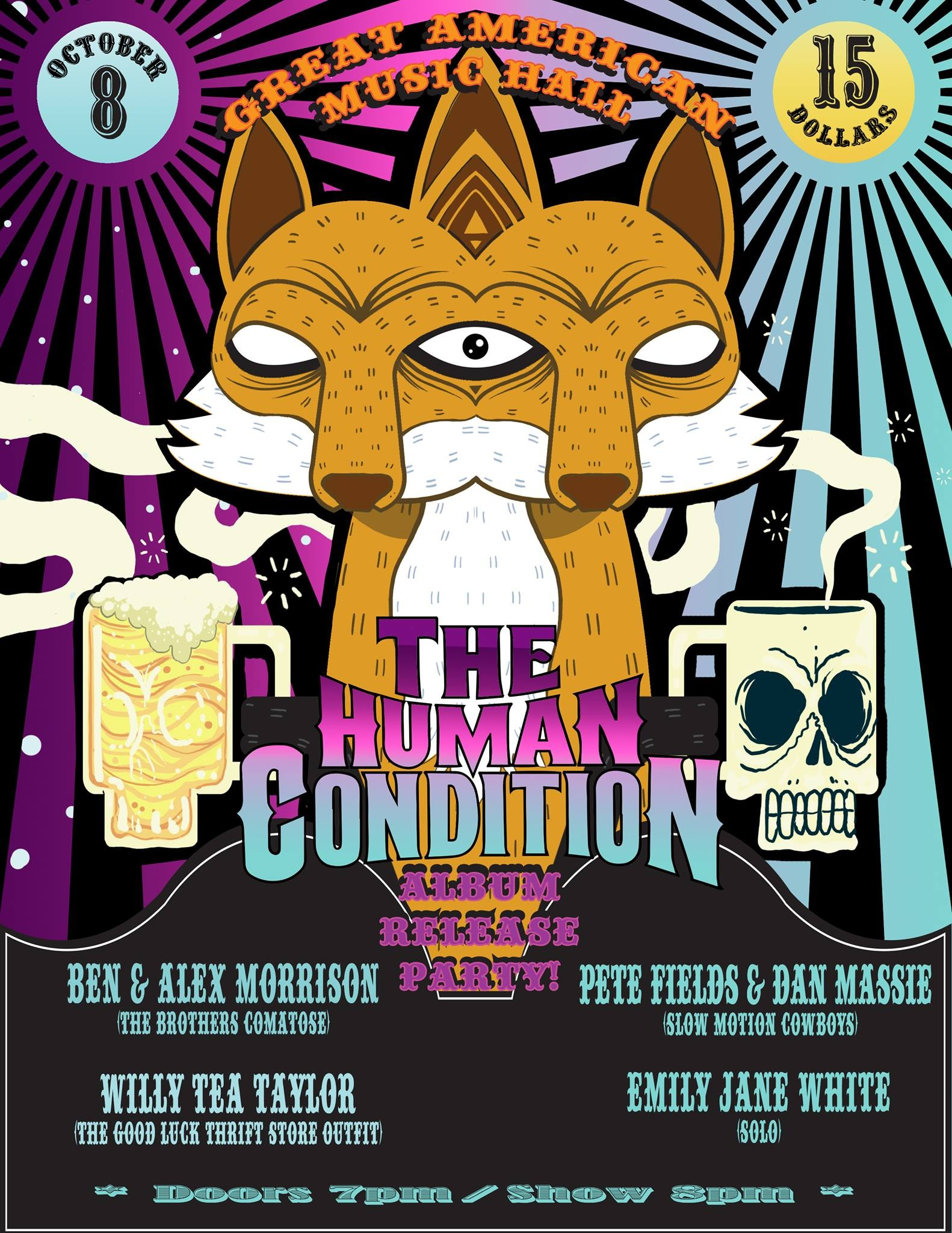 tonight the human condition throws album release party at great  click to enlarge nemo nemo the human condition
