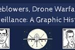 Whistleblowers, Drone Warfare and Surveillance: A Graphic History
