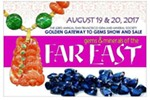 """SF Gem & Mineral Society's 63rd Annual Gem Show & Sale - """"Gems & Minerals of the Far east"""