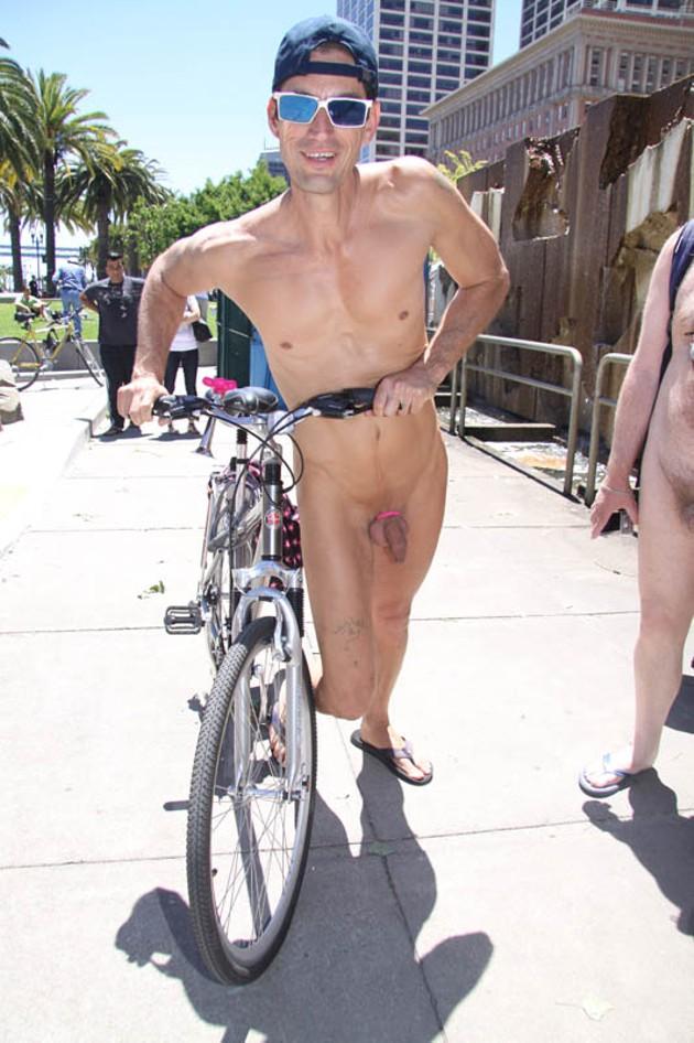 Fuckin bike francisco naked ride san Tyler