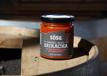 Sosu Brings San Francisco Whiskey Barrel-Aged Sriracha