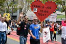 A sea of spectators gathered along Market Street on Sunday, June 28 for the SF Pride Parade. Photographs by Calibree Photography.