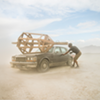 Documenting Burning Man's Construction, Through Wind and Rain