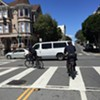 "SF Cop Known For ""Bike Crackdown"" Rolls Through Stop Sign"