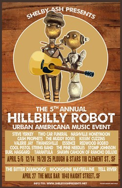 Lookout San Francisco! The Hillbilly Robots are coming! - Uploaded by Shelby Ash Presents