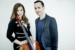 "In celebration of Beethoven's 250th anniversary, Chamber Music San Francisco brings American-born cellist Alisa Weilerstein (left) and Israeli pianist Inon Barnatan (right) together for three Bay Area performances of all five of Beethoven's imaginative ""Cello Sonatas."" Photo Credit: Paul Stuart - Uploaded by infocbpr"