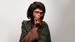 Coco Fusco, in her role as Dr. Zira from the Planet of the Apes series