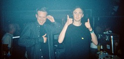 Joy Orbison (left), and Ben UFO