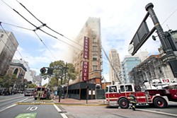 MIKE KOOZMIN - A three-alarm fire at the Renoir in Aug. 2014 delayed the planned renovations.
