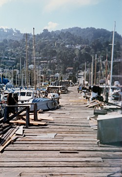 Napa Street Pier, the heart of Galilee Harbor, before it was torn down.