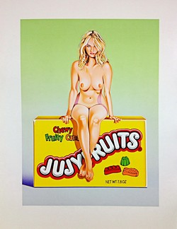 COURTESY OF THE ARTIST - Jujyfruits Judy, by Mel Ramos.