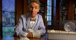 "Scientist Bill Nye teams up with comic Eugene Mirman for ""StarTalk Live."""
