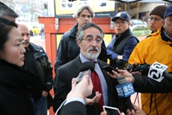 MIKE KOOZMIN - Supervisor Aaron Peskin and many others would like to know why San Francisco couldn't get its Super Bowl bills paid, like Santa Clara did.