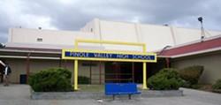The original Pinole Valley High School
