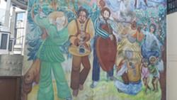 Ruby Newman mural