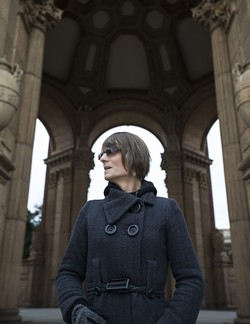 JESSICA CHRISTIAN - Michelle-Lael Norsworthy poses for a portrait at the Palace of Fine Arts in San Francisco, Calif.
