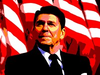 Bronze Statue of Ronald Reagan Is Now Leading Republican Candidate for President