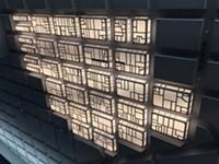The Tenderloin Museum Has Ceiling Lights in the Shape of the Tenderloin