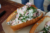 Between Two Slices: Woodhouse Fish Co's Lobster Roll