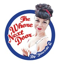 The Whore Next Door: Food Dom