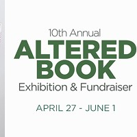 10th Annual Altered Book Exhibit and Fundraiser