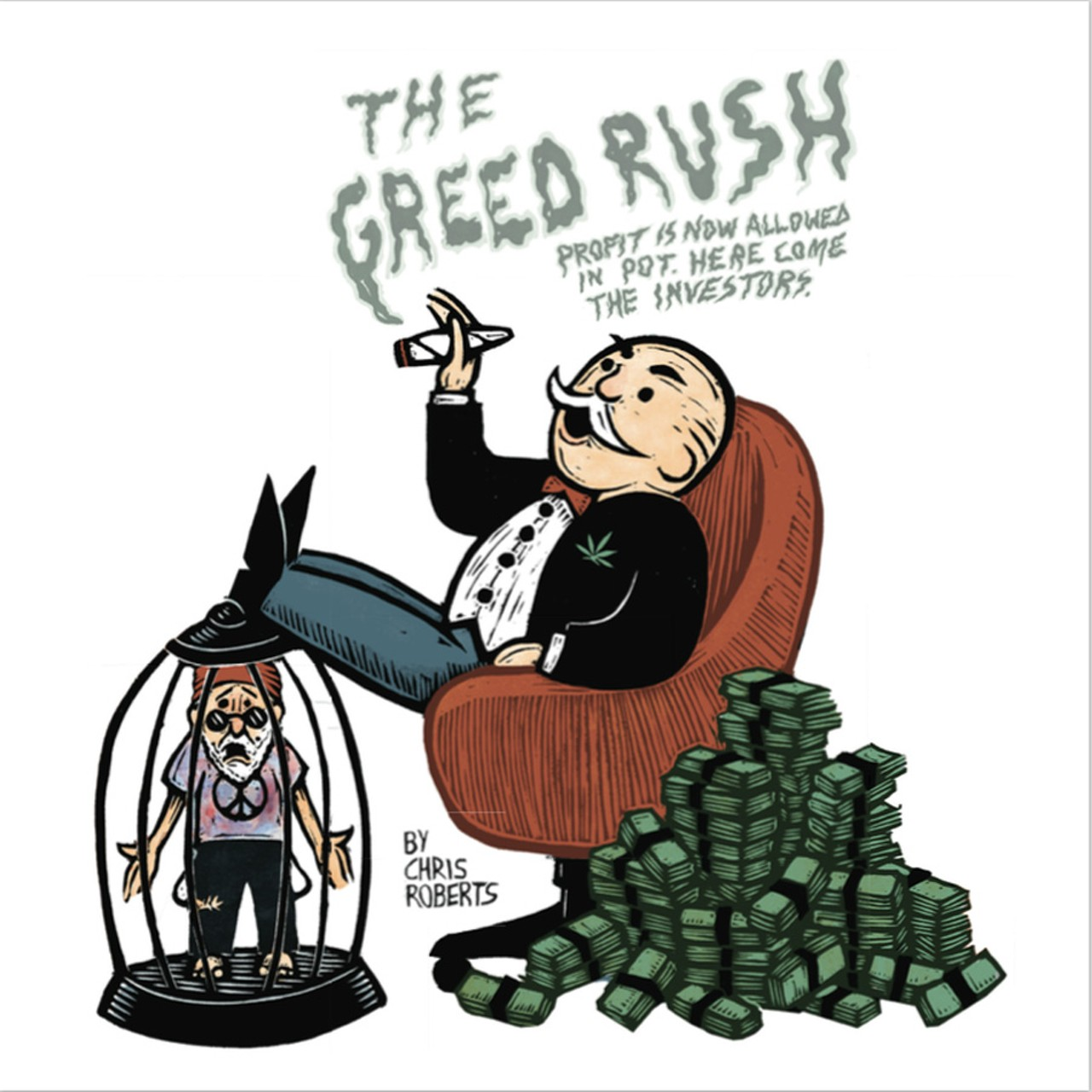 the greed rush venture capital enters cannabis feature san