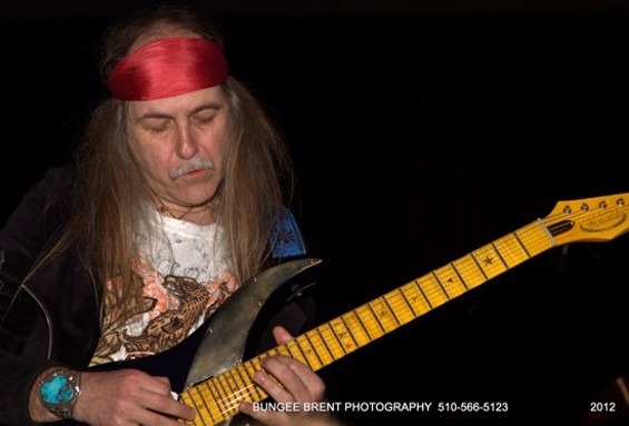 Uli Jon Roth at the Oakland Metro Operahouse on Saturday night. - BUNGEE BRENT