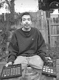 AKIM  AGINSKY - Unagi: Notice, he's sitting on a beer keg.