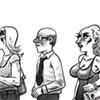 Unemployed straight guys attend transgender job fair