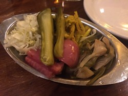 Unquestionably one of San Francisco's best pickle plates. - PETE KANE