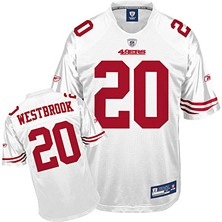 Until last night, fans wearing this jersey had only nine fewer rushing yards than Brian Westbrook