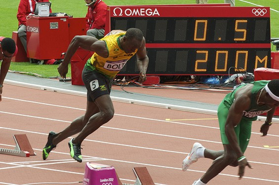 Usain Bolt - NICK J WEBB