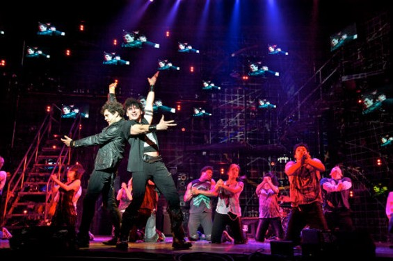Van Hughes and Joshua Kobak star in the musical that's returned to the town where it started. - DOUG HAMILTON