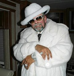 Vaughn Walker, reimagined as a pimp. This is not a real photo.