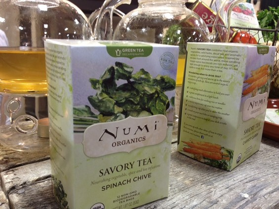 Vegetable tea is here. - TAMARA PALMER