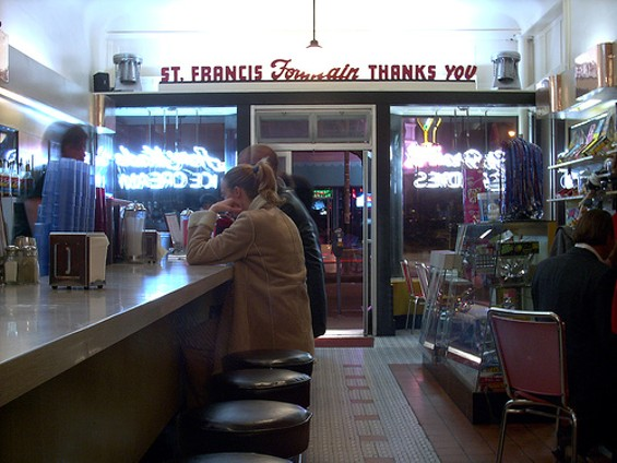 Vegetarians can apparently thank St. Francis back for its veggie burger. - SOUPSTANCE/FLICKR