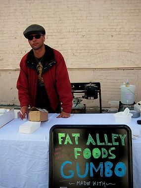 Vendor at May's Underground Market. - ROSELINE55/FLICKR