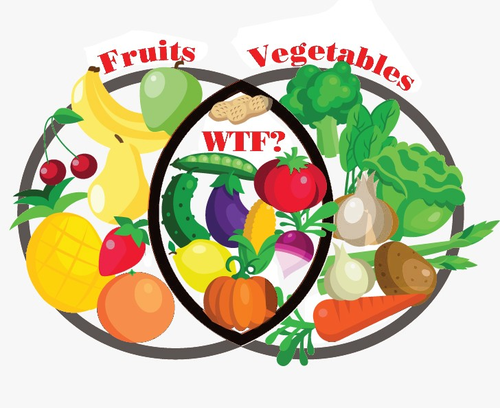 Venn Diagram Fruit Or Vegetable Sfoodie