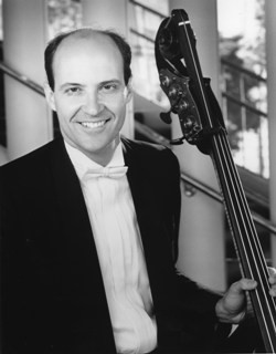 Veteran bassist Stephen Tramontozzi. This year will be his 31st season with SFS