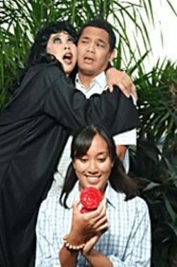 JAY  JAO - Vicki Zabarte, Ryan Morales, and Victoria - Mejia in Banyan.