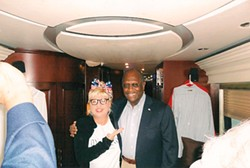 COURTESY OF VICTORIA JACKSON - Victoria Jackson with Herman Cain